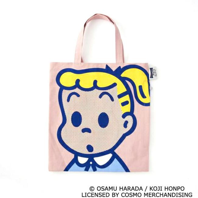 ●OSAMUGOODS×ROOTOTEコラボトートバッグ(約タテ30×ヨコ28×マチ4cm)3,520円