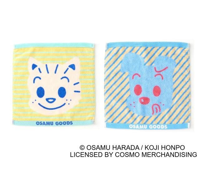 ●プチタオル(約タテ25×ヨコ25cm) 各550円