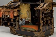 葵藤紋散蒔絵雛道具一式のうち  女乗物 江戸時代・19世紀前半  共立女子大学博物館蔵 【後期展示】