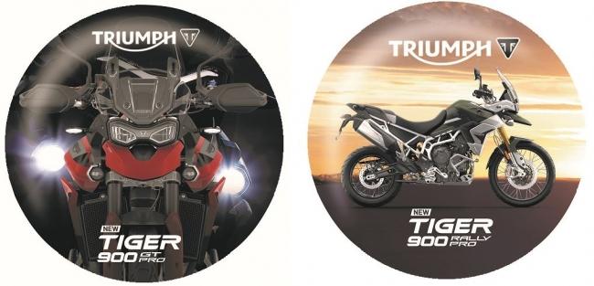 新型 TIGER 900 オリジナル缶バッジ