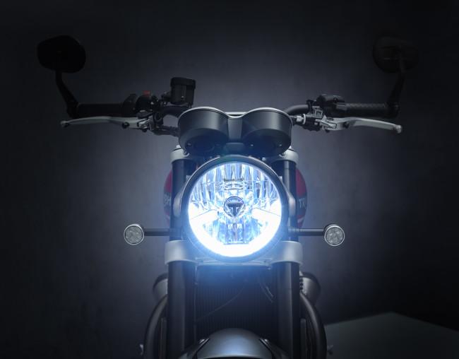 新アルマイト加工ヘッドライト