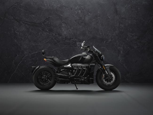 新型Rocket 3 GT Triple Black limited Edition
