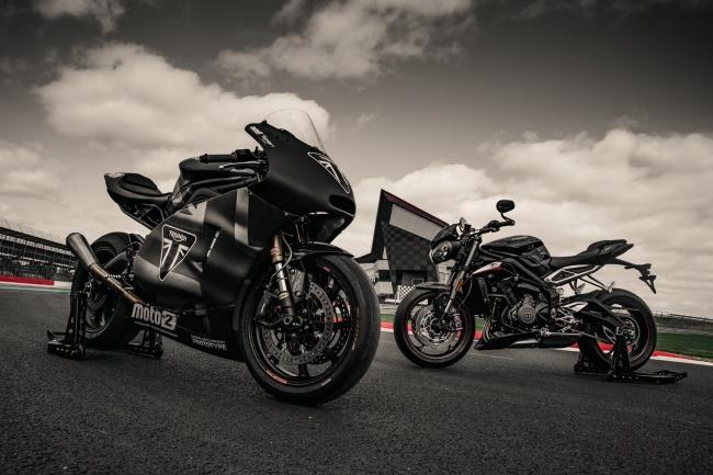 Moto2TM プロトタイプ Street Triple RS