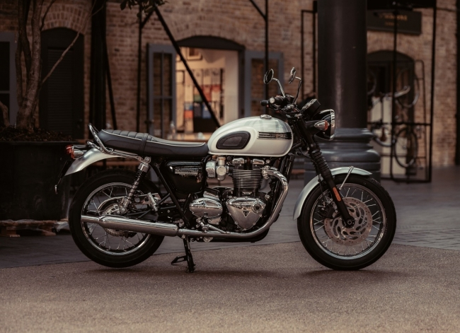 BONNEVILLE T120 DIAMOND EDITION 世界限定900台