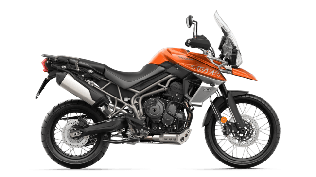 Tiger 800 - バハオレンジ