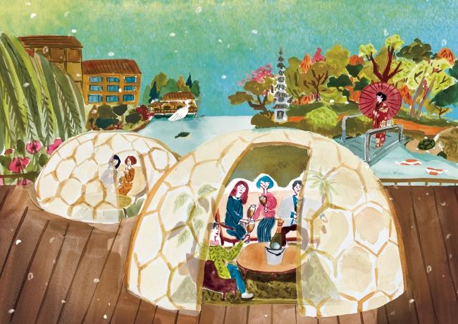 「ウィンタードーム」by フォーシーズンズホテル京都