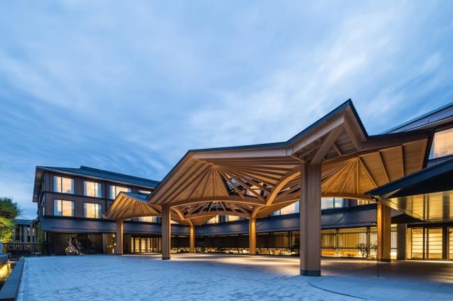 2016年10月開業 フォーシーズンズホテル京都 エントランス