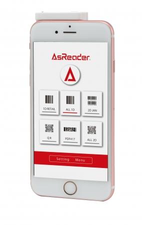 AsReader CAMERA TypeのTOP画面