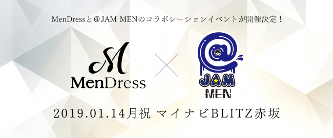 MenDress×@JAM MEN