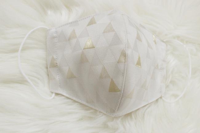 西陣織マスク Triangle