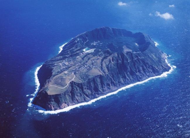 青ヶ島空撮写真