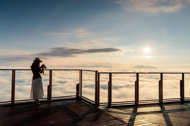 サンセット&雲海