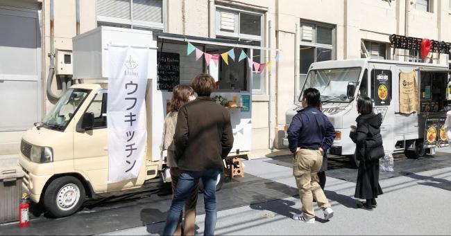 小学校跡地を再開発した「Fukuoka Growth Next」でのプレオープンの様子
