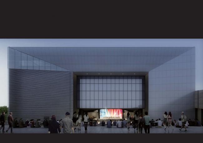 屋外ステージ側から見たTACHIKAWA STAGE GARDEN(イメージ)