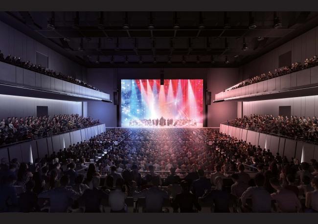 ライブやコンサートなどの音楽イベントをはじめ、展示会など幅広い用途でご利用いただけます (イメージ)