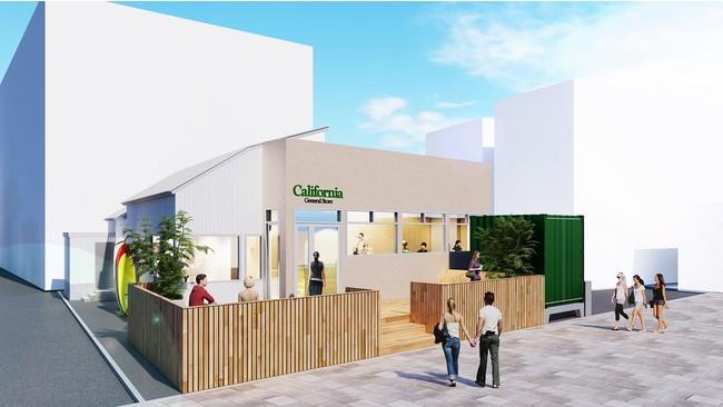 「California General Store」店舗外観イメージ