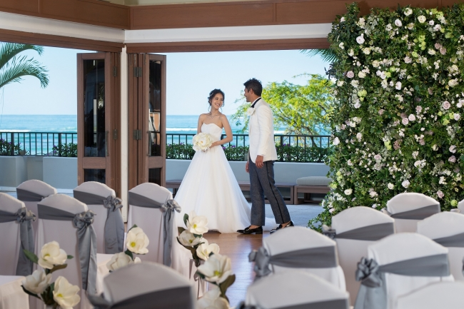 Halekulani Wedding(イメージ)Ⓒモチーフ イベント デザイン リゾート