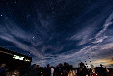 八方尾根「天空の天体ショー」