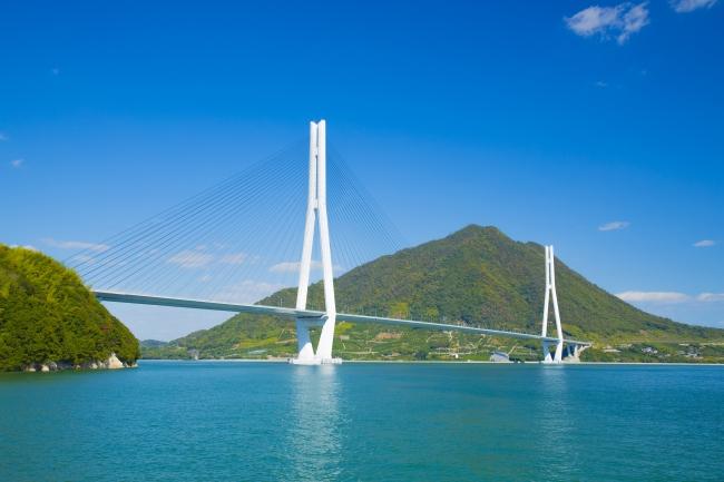 しまなみ海道 多々羅大橋(イメージ)