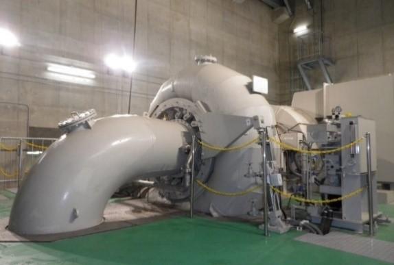 喜瀬川発電所(水車・発電機)(イメージ)