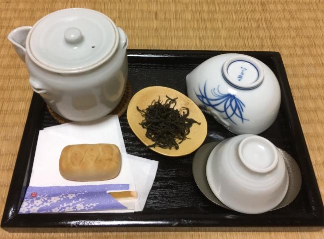 釜炒り茶(イメージ)