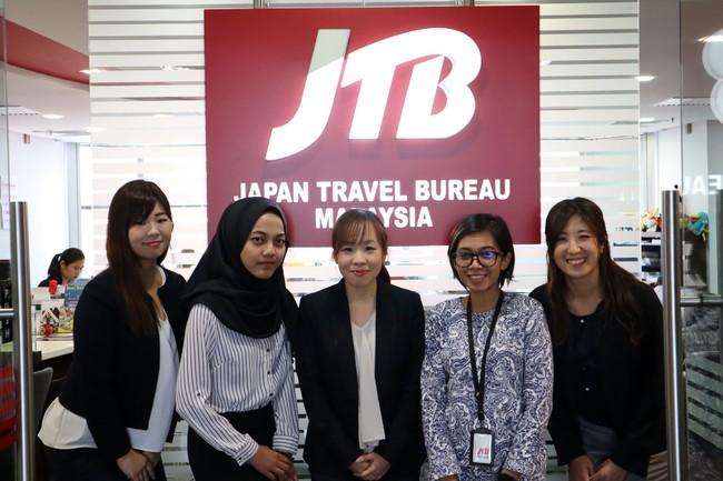プログラムを運営するJTBマレーシアスタッフ