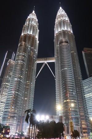 マレーシアの観光スポットのひとつ ツインタワー