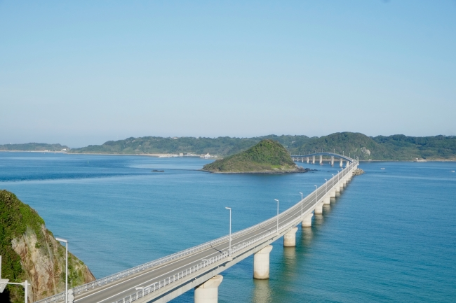 (山口県)角島大橋(C)下関市