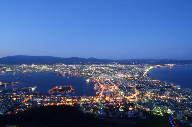 (北海道)日本三大夜景 函館