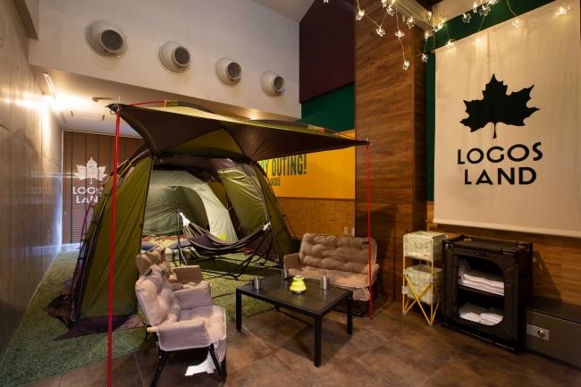 プラムイン城陽-テント部屋