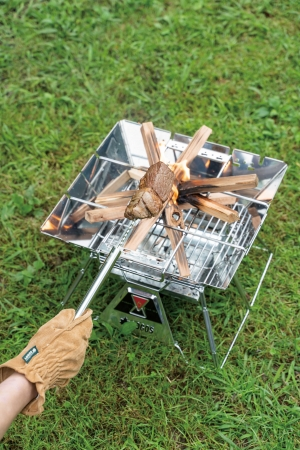 3.ツイストスキュア・・・肉やエビなど重量のある食材をじっくり焼くのに便利。