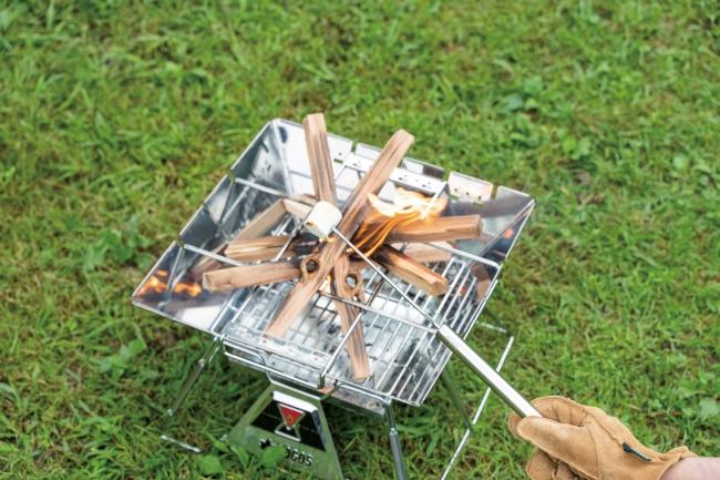 1.ストレートスキュア・・・野菜やマシュマロなどを刺して手軽に調理可能。