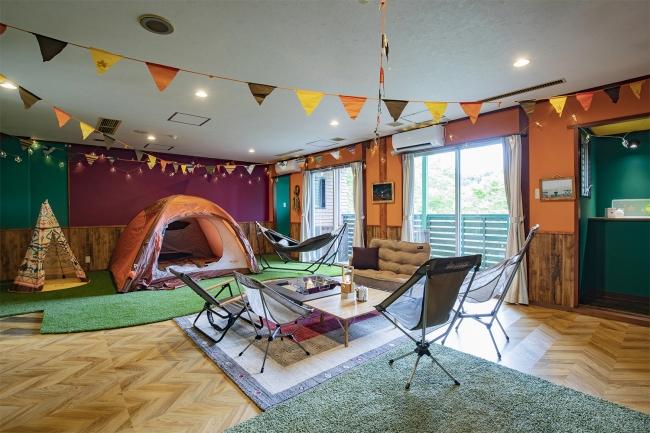 キャンプサイトタイプ