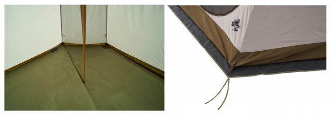 それぞれ取り付け簡単で、テント内の環境をより快適に。