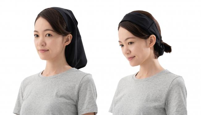 帽子やターバンなど工夫次第でマルチに使える。