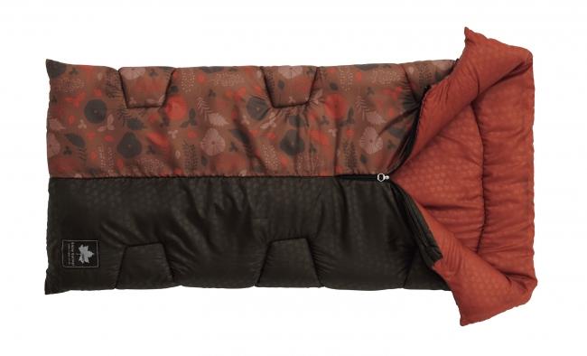 適正温度-2℃までの 封筒型シュラフ。