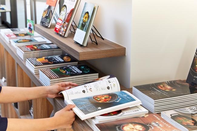 30タイトル以上のレシピ本は、ご自由に閲覧でき購入可能