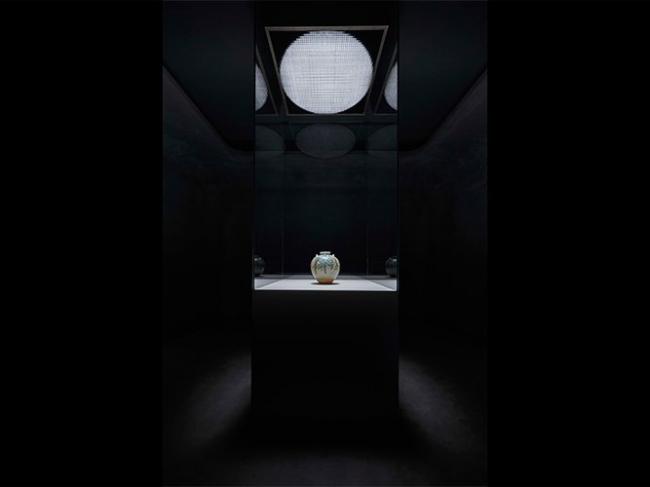 MOA美術館(国宝「色絵藤花文茶壺」の展示空間)