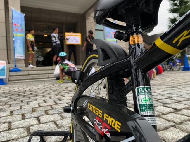 貸し出されるキッズバイクは自転車協会のBAA基準をクリア