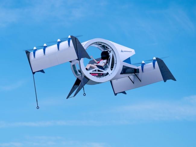 『空飛ぶゴンドラ』Next MOBILITY®飛行形態