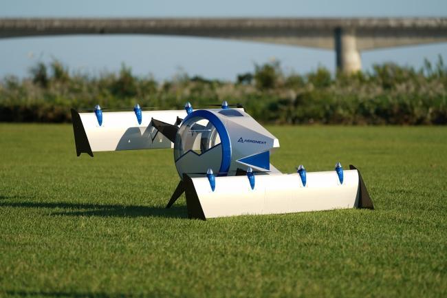 『空飛ぶゴンドラ』Next MOBILITY®着陸形態