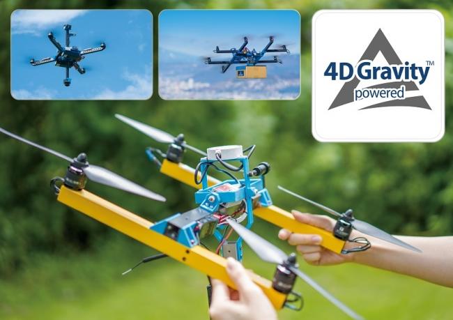 4D Gravity™のロゴマーク