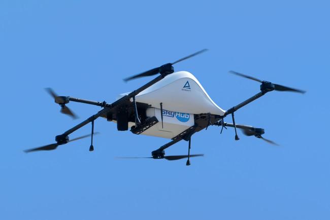 エアロネクストの物流専用ドローンの最新試作機