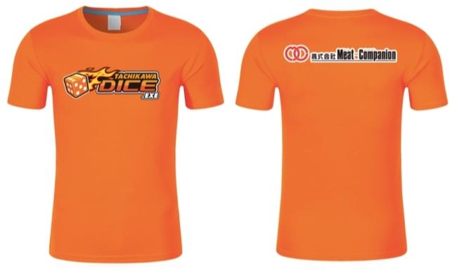 会場を埋め尽くすDICEカラーオレンジのTシャツ(先着500名様に会場でプレゼント)