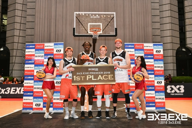 3x3.EXE PREMIER ROUND.1in大森(2018.6.9)関東北カンファレンス優勝