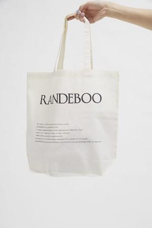 RANDEBOOオリジナルトートバッグ