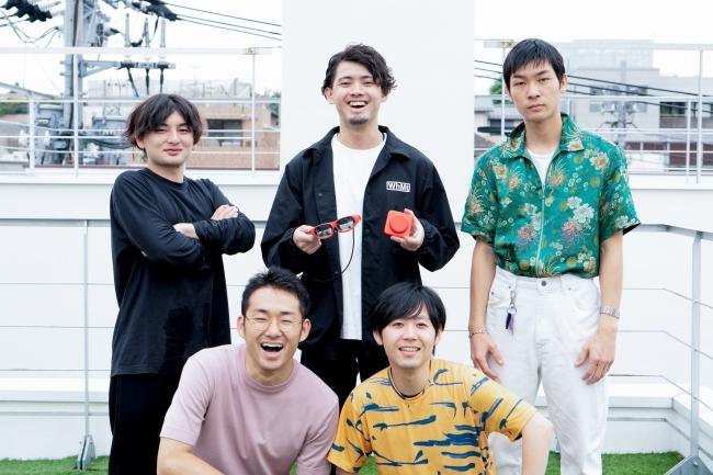 左から、MESON本間、小林、梶谷、博報堂DYホールディングス目黒、小坂