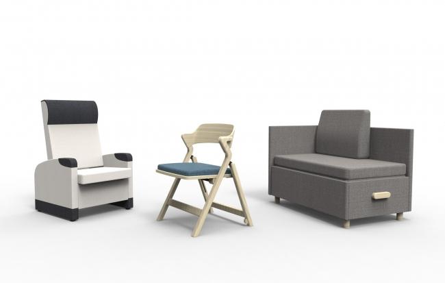 【新製品】快適な病室空間づくりのための家具