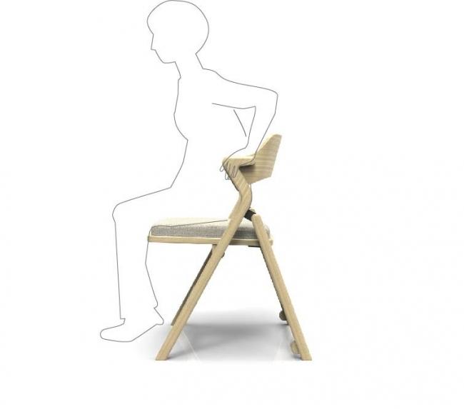 立ち座りをサポート