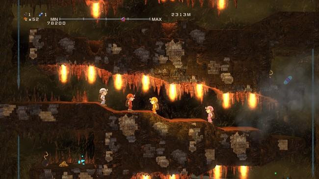 元祖みんなでスペランカー_新ゲームモード無限洞窟NEO